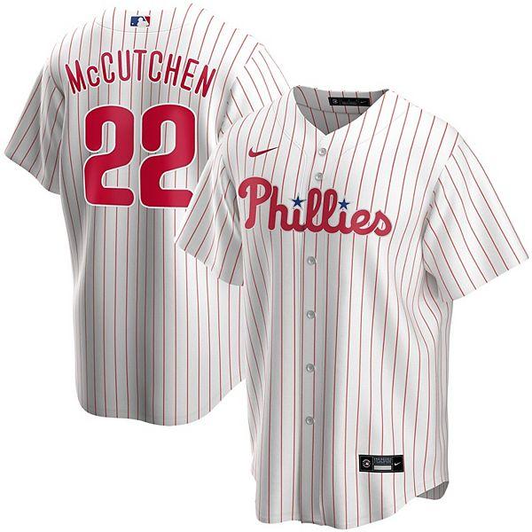 Men's Nike Andrew McCutchen White Philadelphia Phillies Home 2020 Replica Player Jersey