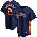 Men's Nike Alex Bregman Navy Houston Astros Alternate 2020 Replica Player Jersey