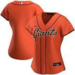 Women's Nike Orange San Francisco Giants Alternate 2020 Replica Team Jersey