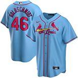 Men's Nike Paul Goldschmidt Light Blue St. Louis Cardinals Alternate 2020 Replica Player Jersey