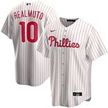 Men's Nike JT Realmuto White Philadelphia Phillies Home 2020 Replica Player Jersey