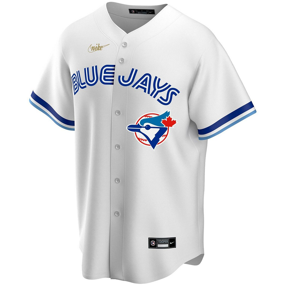 Men's Nike White Toronto Blue Jays Home Cooperstown Collection Team Jersey 9JoGA