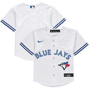 Toddler Nike White Toronto Blue Jays Home 2020 Replica Team Jersey