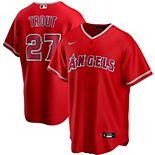 Men's Nike Mike Trout Red Los Angeles Angels Alternate 2020 Replica Player Jersey