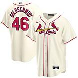 Men's Nike Paul Goldschmidt Cream St. Louis Cardinals Alternate 2020 Replica Player Jersey