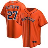 Men's Nike Jose Altuve Orange Houston Astros Alternate 2020 Replica Player Jersey