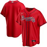 Men's Nike Red Atlanta Braves Alternate 2020 Replica Team Jersey