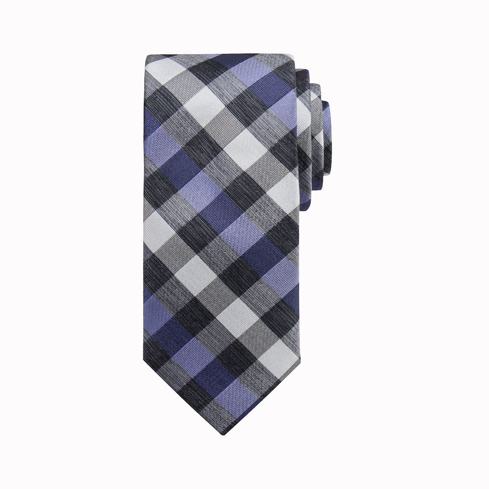 Men's Apt. 9® Checked Skinny Tie