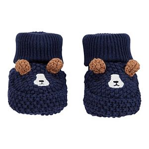 Baby Carter's Dog Crochet Bootie Socks