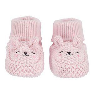 Baby Carter's Bunny Newborn Knit Booties