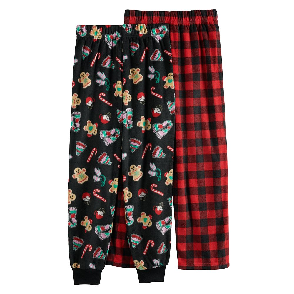 Girls 4-12 Cuddl Duds® 2-Pack Pants