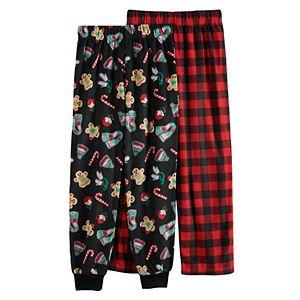 Girls 4-12 Cuddl Duds 2-Pack Pants