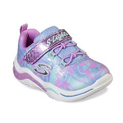 Details about SKECHERS S LIGHTS: ENERGY LIGHTS ROSE GOLD LIGHT UP CASUAL SHOES 2Y