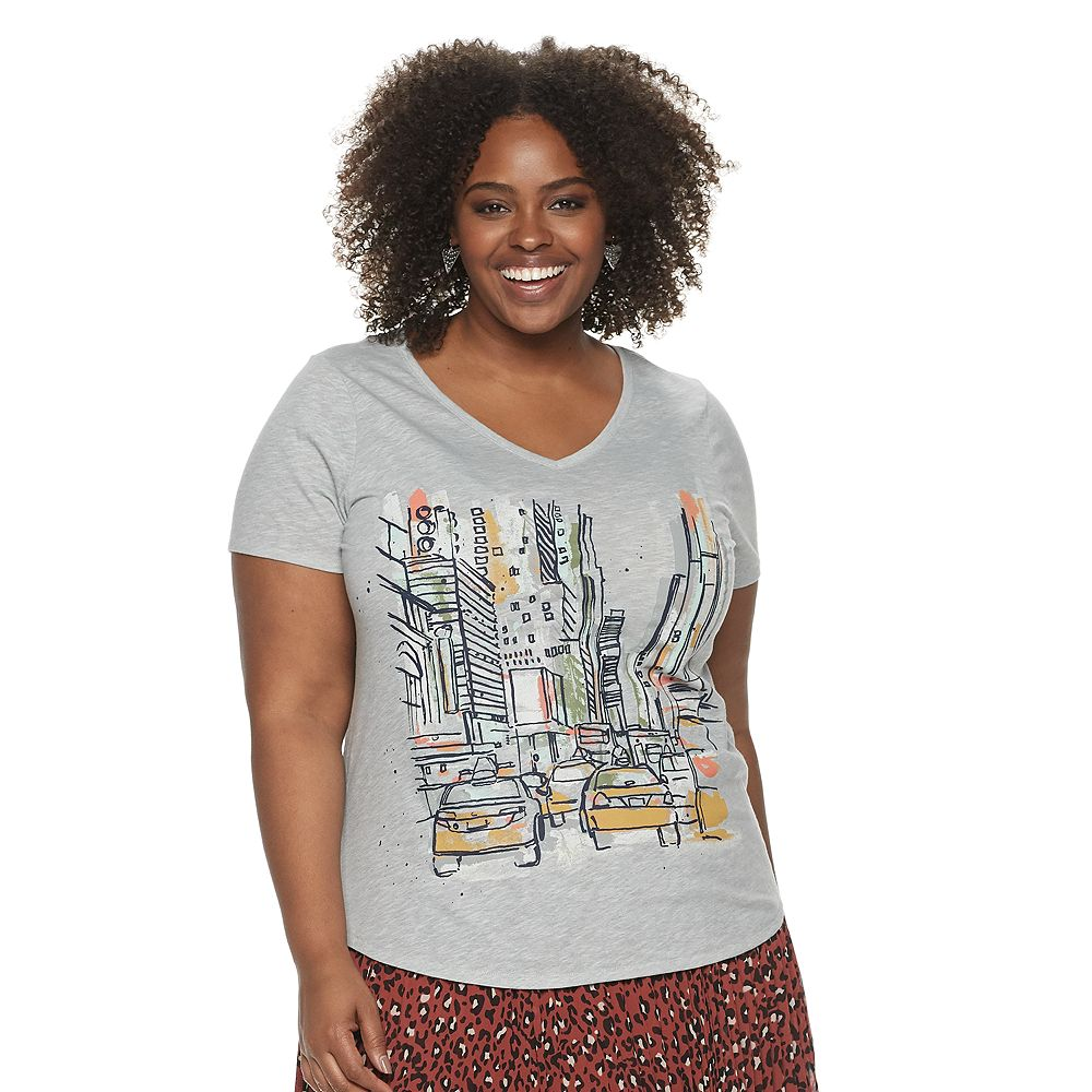 Plus Size EVRI™ Essential Casual Tee
