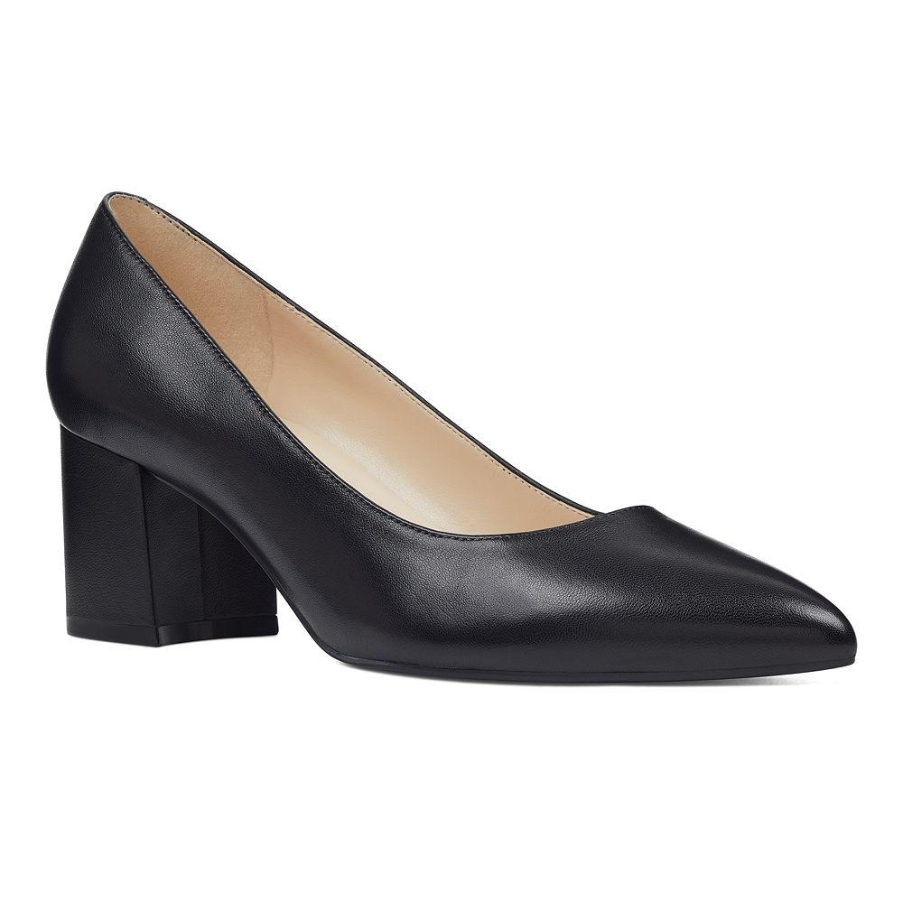 Nine West Issa Women's Leather Block Heels