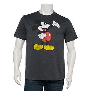 Big & Tall Disney Mickey Mouse Vintage Grand Gesture Tee