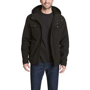 Men's Levi's Softshell Sherpa-Lined Hooded Trucker Jacket