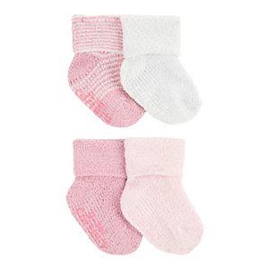 Baby Girl Carter's 4 Pack Chenille Socks
