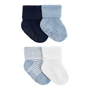 Baby Boy Carter's 4 Pack Chenille Socks