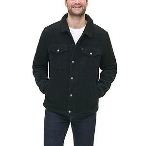 Men's Levi's Corduroy Lined Trucker Jacket