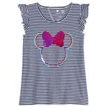 Disney Graphic Girls 4-12 Flutter Top by Jumping Beans®