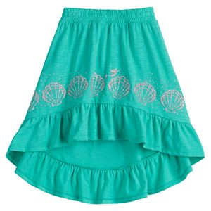 Disney's The Little Mermaid Girls 4-12 High-Low Ruffle Skirt by Jumping Beans®