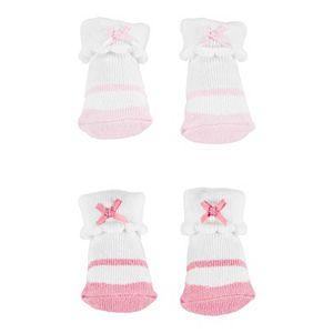 Baby Girl Carter's 2 Pack Ruffled Cuffed Socks