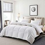 Serta® White Goose Feather & Down Comforter - Light Warmth