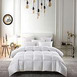 Serta® White Down Fiber Comforter - Light Warmth