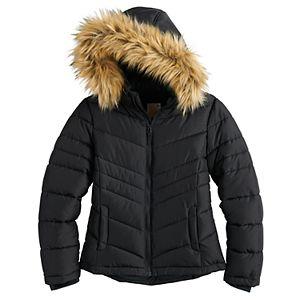 Girls 7-16 SO® Puffer Jacket