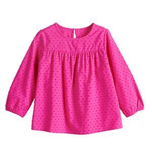 Toddler Girl Jumping Beans® Babydoll Peasant Top