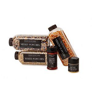 Wabash Valley Farms Gold Glitter Box Popcorn Gift Set