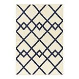 Maples Brisbane Geometric Area and Throw Rug