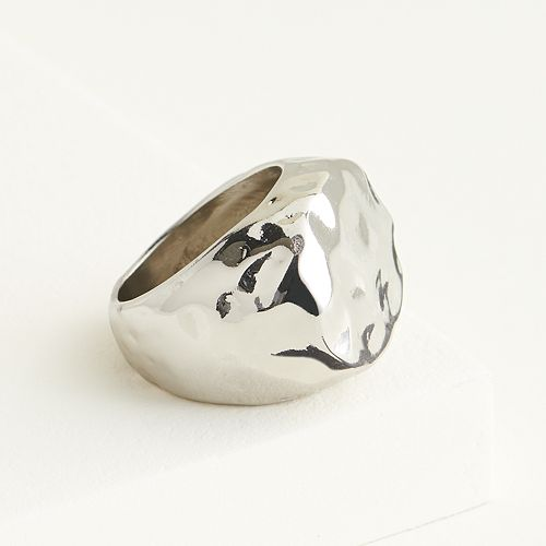 Elizabeth and James Hammered Statement Ring