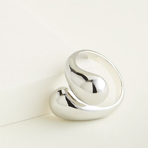 Elizabeth and James Open Statement Ring