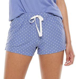 Juniors' SO® Easy Sleep Shorts