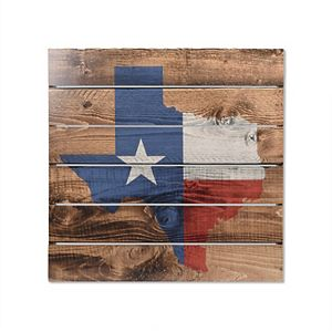 New View Texas Plank Wall Decor
