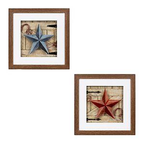 New View Barn Star Wall Art 2-piece Set