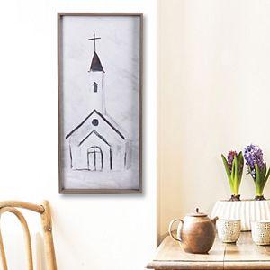New View Church Framed Wall Decor