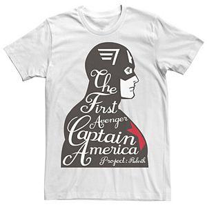Men's Marvel Captain America The First Avenger Tee