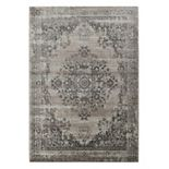 Portsmouth Home Vintage Medallion Indoor Outdoor Rug - 5'3'' x 7'7''