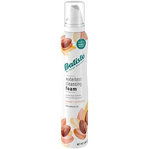 Batiste Waterless Cleansing Foam - Cleanse & Strengthen + Almond Oil