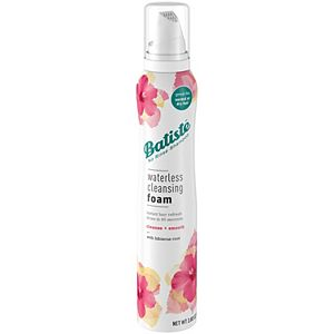 Batiste Waterless Cleansing Foam - Cleanse & Smooth + Hibiscus Root