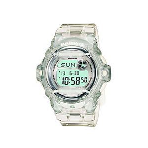 Casio Baby-G Clear Resin Digital Chronograph Watch - BG169R-7BM