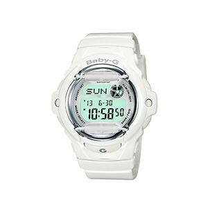 Casio Baby-G White Resin Digital Chronograph Watch - BG16R-7AM