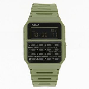 Casio Unisex Digital Calculator Watch in Green - CA53WF-3BOS