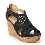 SO® Jovial Women's Wedge Sandals