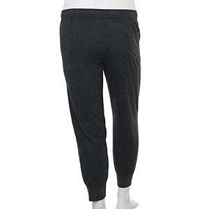 Big & Tall Sonoma Goods For Life Modern-Fit Banded-Bottom Flannel Sleep Pants