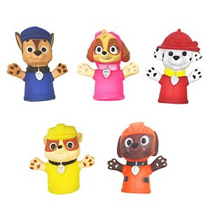 Nickelodeon PAW Patrol 5-Pack Bath Finger Puppets