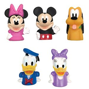 Disney's Mickey Mouse & Friends 5-Pack Bath Finger Puppets